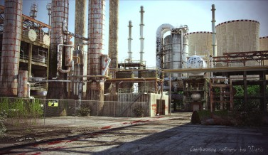 Caerbannog refinery